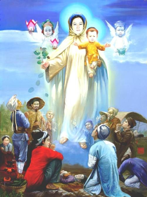 Tổng hợp hình ảnh Mẹ Maria đẹp