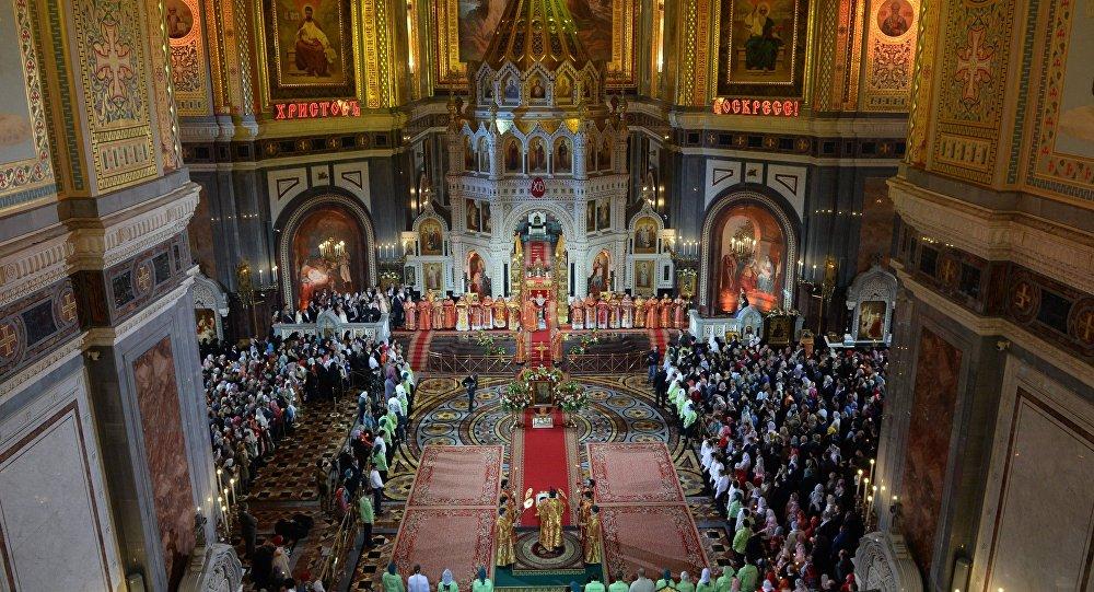 thánh lễ Phục sinh tại nhà thờ