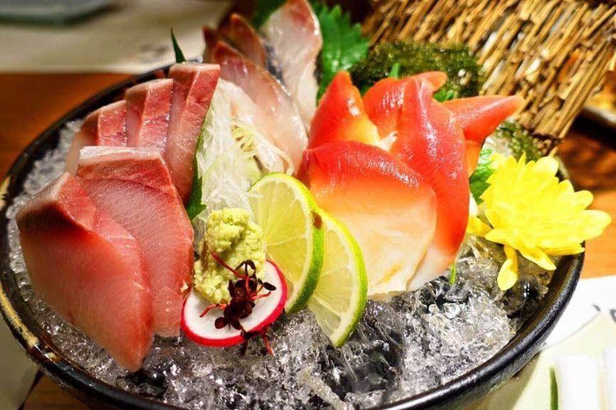 Nhà hàng Nhật Sashimi BBQ Garden 10
