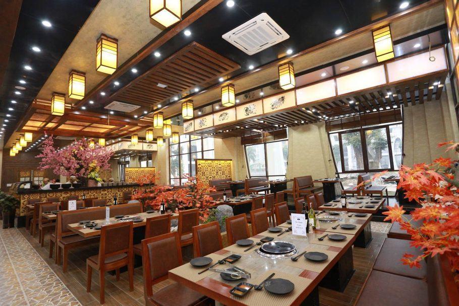 Nhà hàng Nhật Sashimi BBQ Garden 2