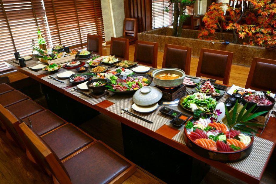 Nhà hàng Nhật Sashimi BBQ Garden 6