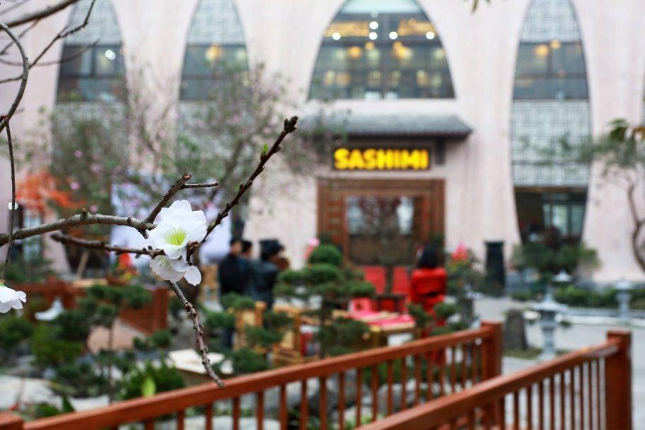 Nhà hàng Nhật Sashimi BBQ Garden